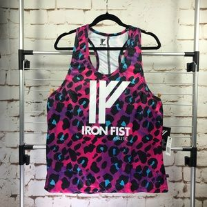 🍁Iron Fist top Athletic Tank Jungle Cat Tech XL